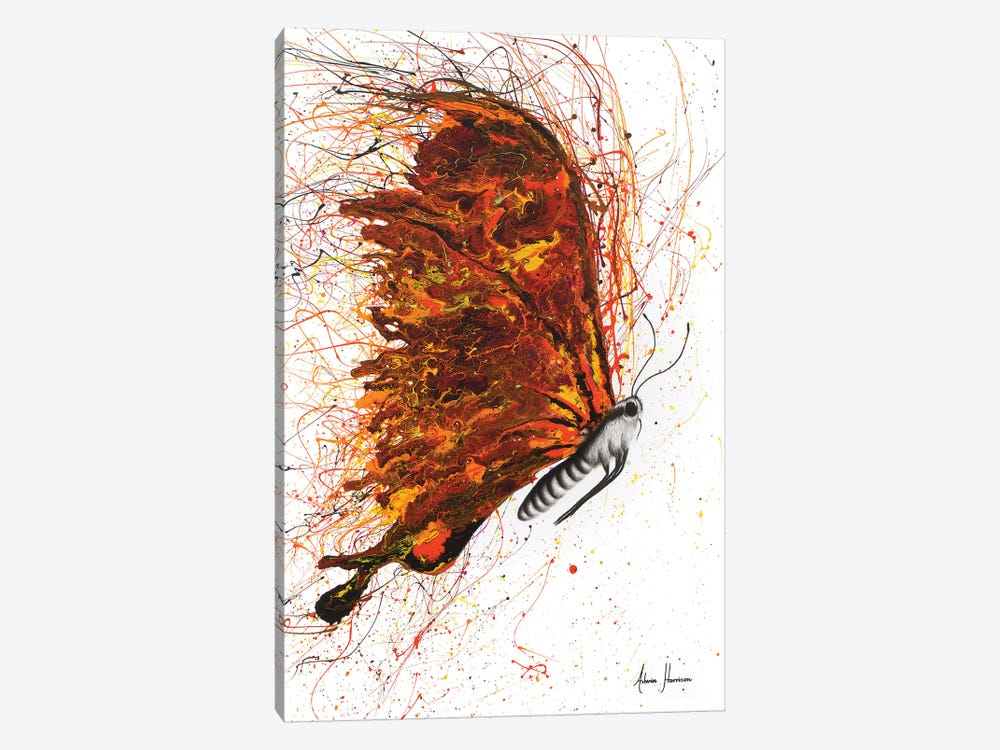 Power And Passion by Ashvin Harrison 1-piece Canvas Wall Art