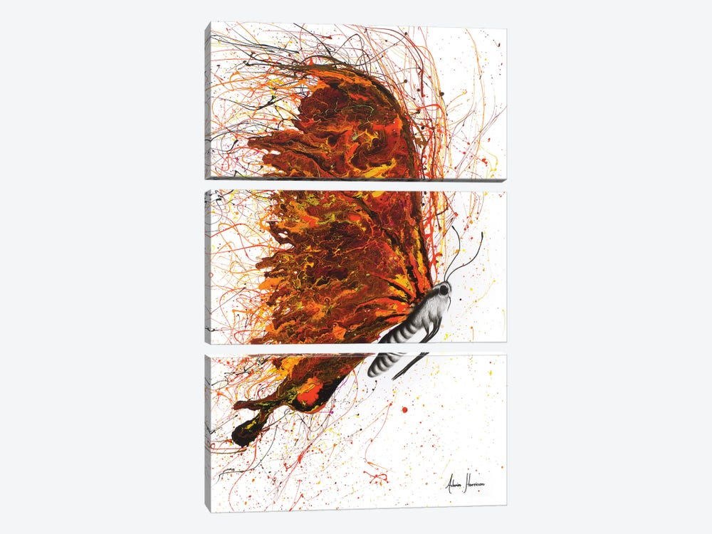 Power And Passion by Ashvin Harrison 3-piece Canvas Art