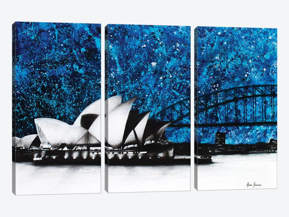 An Opera Night 3-piece Canvas Print