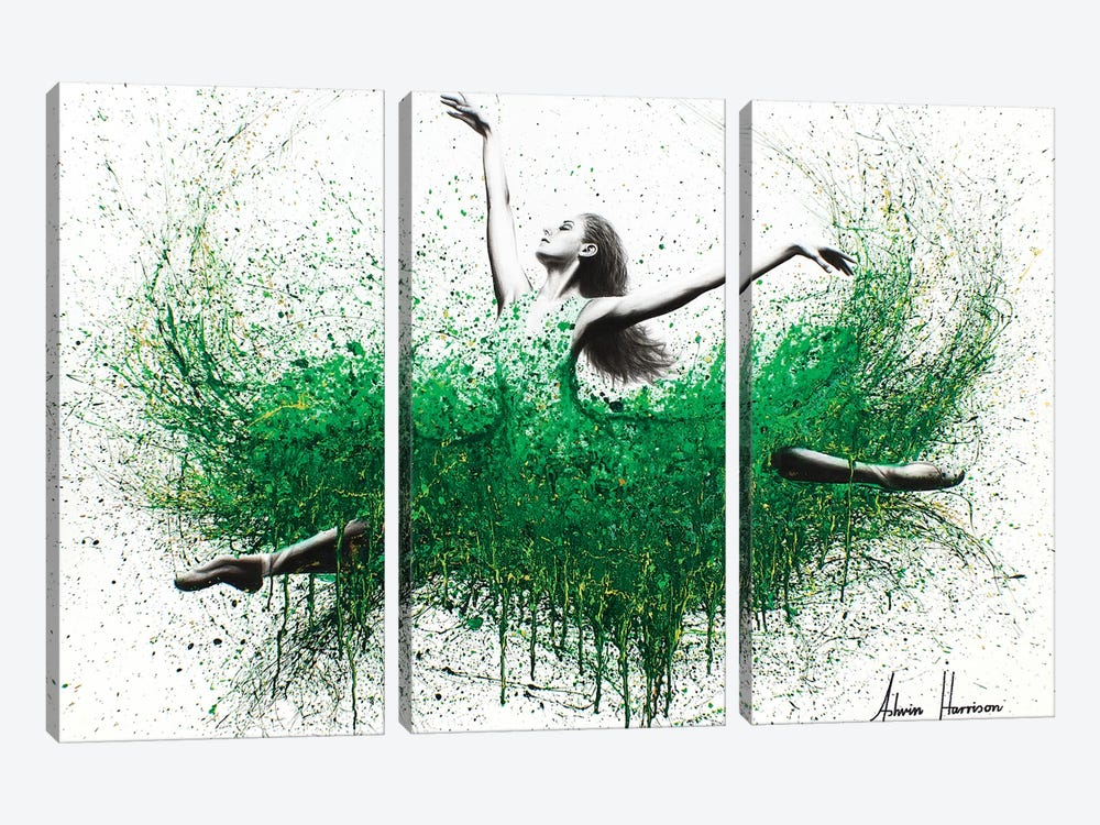 Pride And Perseverance by Ashvin Harrison 3-piece Canvas Wall Art