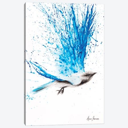 Raining Happiness Canvas Print #VIN92} by Ashvin Harrison Canvas Artwork