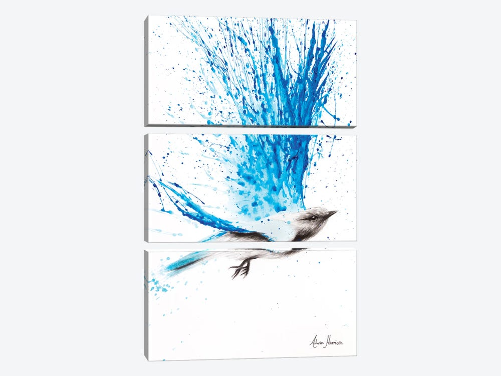 Raining Happiness 3-piece Canvas Artwork