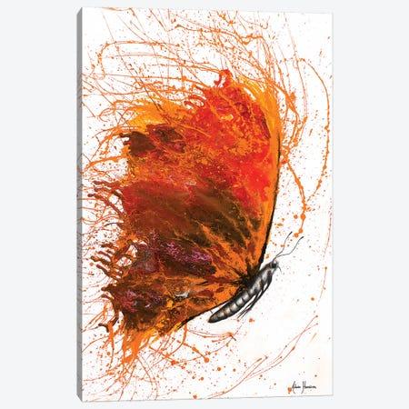 Rhodochrosite Wings Butterfly Canvas Print #VIN93} by Ashvin Harrison Canvas Art