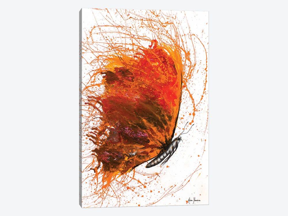 Rhodochrosite Wings Butterfly by Ashvin Harrison 1-piece Canvas Art Print