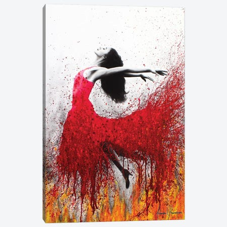 Rise Above The Flames Canvas Print #VIN94} by Ashvin Harrison Canvas Art Print