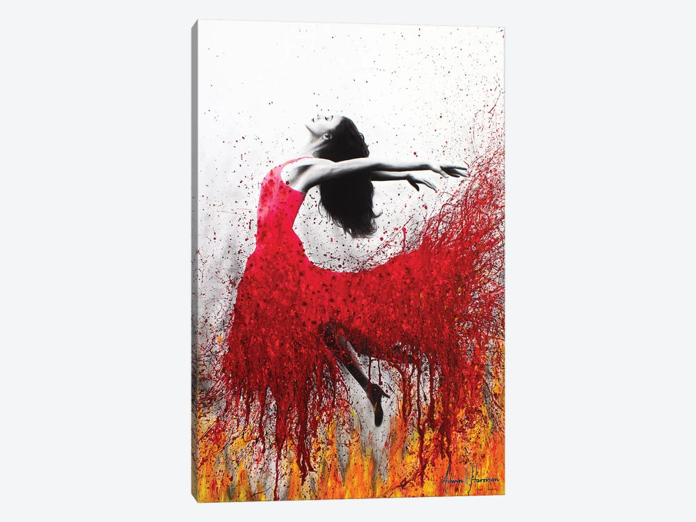 Rise Above The Flames by Ashvin Harrison 1-piece Canvas Wall Art