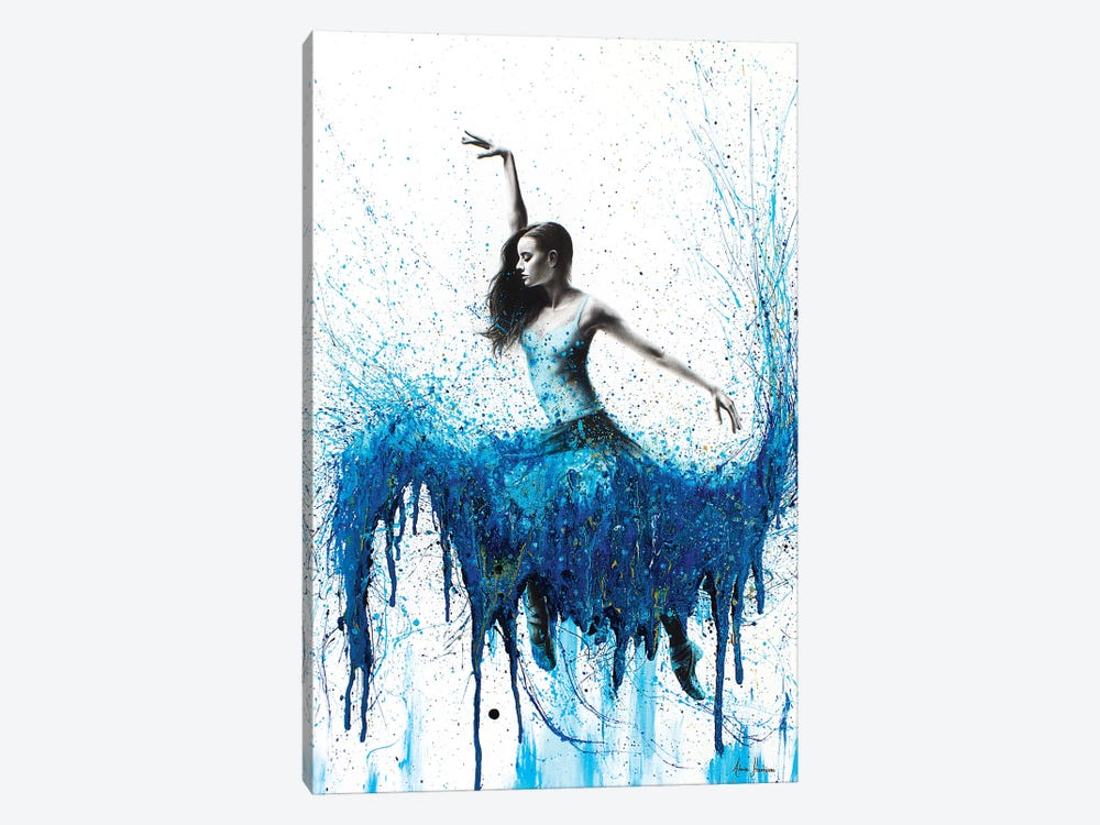 Rising Moonstone Dance by Ashvin Harrison 1-piece Canvas Print