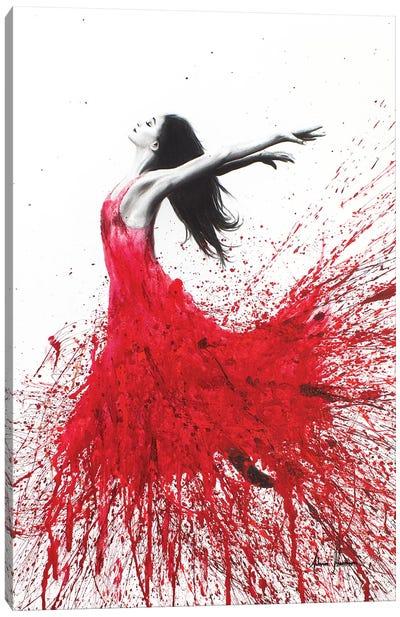 Rose Dance Canvas Art Print