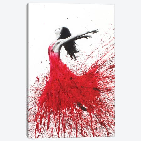 Rose Dance Canvas Print #VIN96} by Ashvin Harrison Canvas Art Print