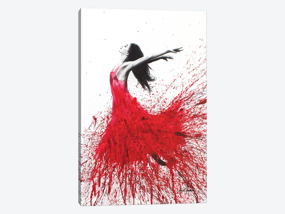 Rose Dance by Ashvin Harrison 1-piece Canvas Art