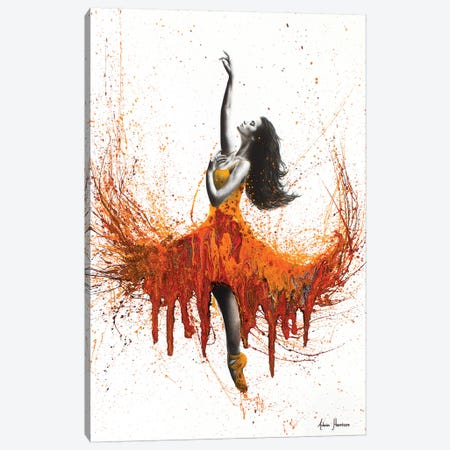 Rusty Desert Dance Canvas Print #VIN97} by Ashvin Harrison Canvas Art Print
