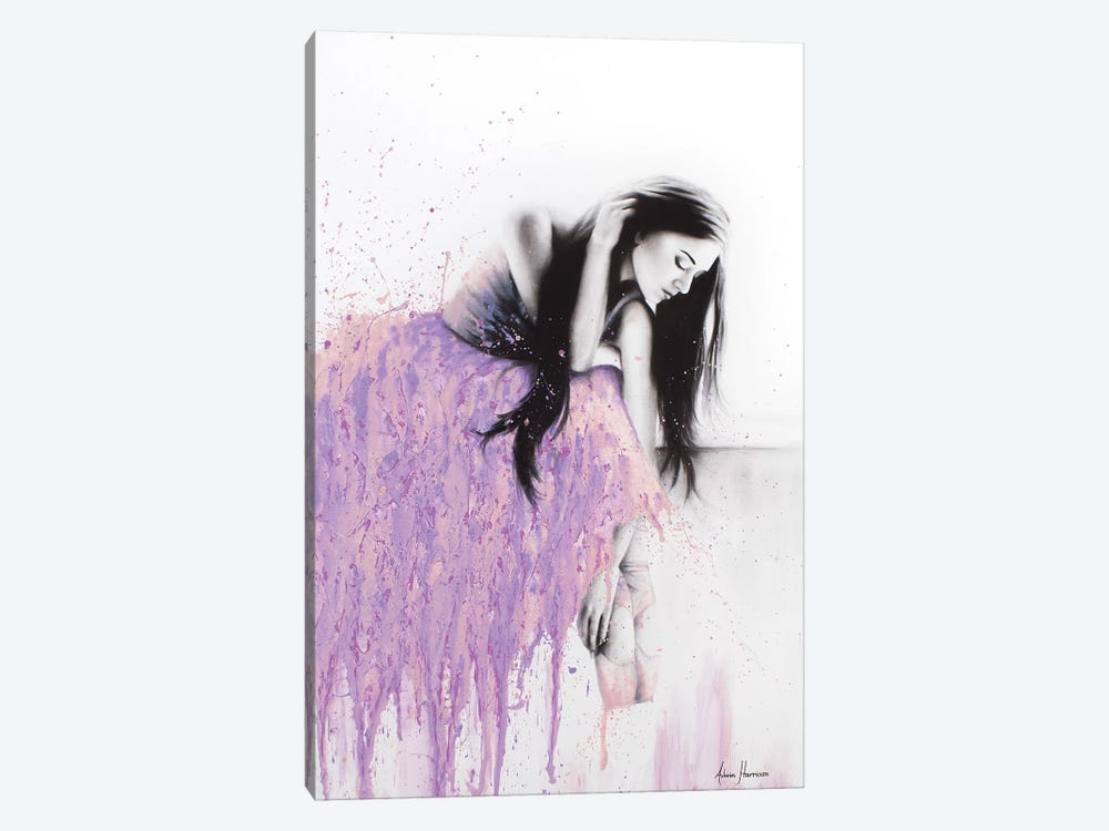 Sitting On The Edge by Ashvin Harrison 1-piece Canvas Art Print