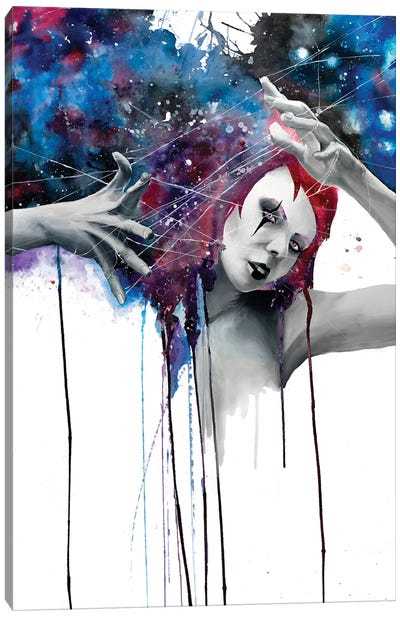 Deliria Canvas Art Print