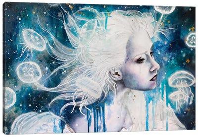 Drown Canvas Art Print
