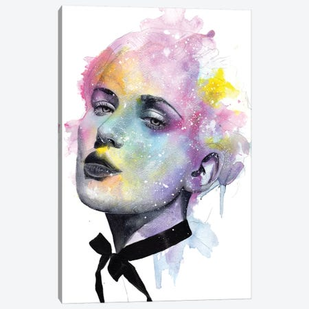 Hate Never Wins Canvas Print #VIO12} by Victoria Olt Art Print