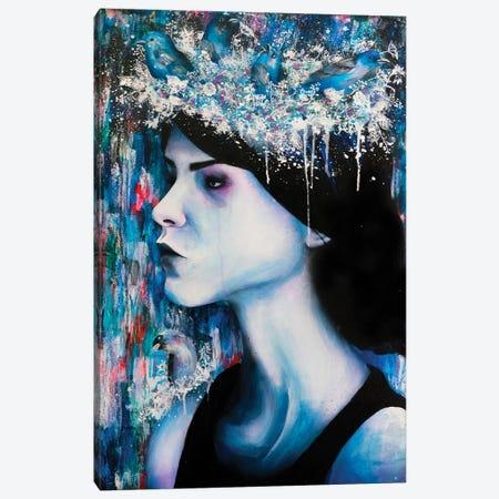 Homesick Canvas Print #VIO13} by Victoria Olt Art Print