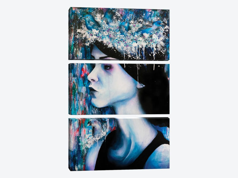 Homesick by Victoria Olt 3-piece Canvas Artwork