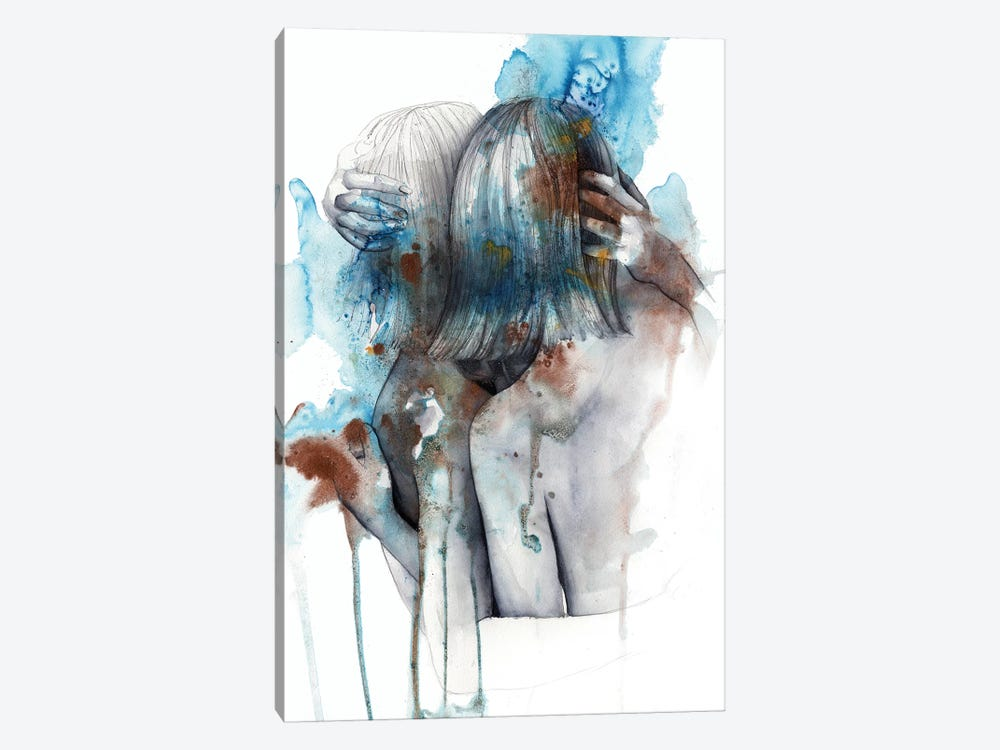 Isolophobia by Victoria Olt 1-piece Canvas Wall Art