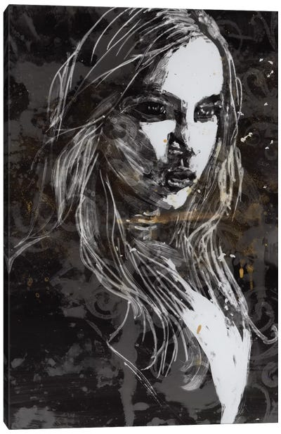 Light Painting IX Canvas Art Print