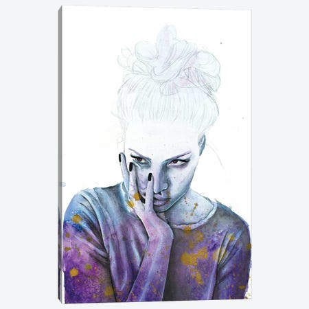 Nightmares Canvas Print #VIO20} by Victoria Olt Canvas Artwork