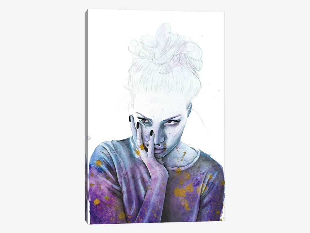 Nightmares by Victoria Olt 1-piece Canvas Wall Art