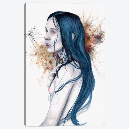 One For Sorrow Canvas Print #VIO21} by Victoria Olt Canvas Art