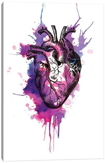 Tell Tale Heart I Canvas Art Print