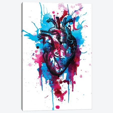 Tell Tale Heart III Canvas Print #VIO23} by Victoria Olt Canvas Art