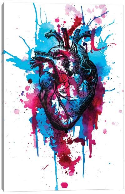 Tell Tale Heart III Canvas Art Print