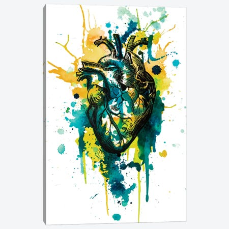 Tell Tale Heart VII Canvas Print #VIO24} by Victoria Olt Canvas Print