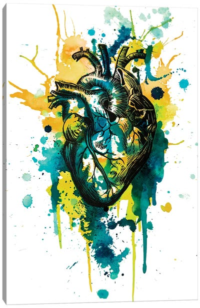 Tell Tale Heart VII Canvas Art Print
