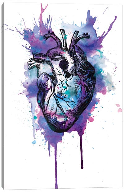 Tell Tale Heart IX Canvas Art Print