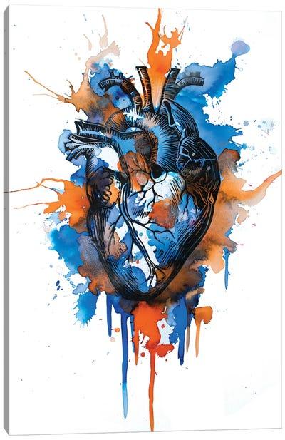 Tell Tale Heart X Canvas Art Print
