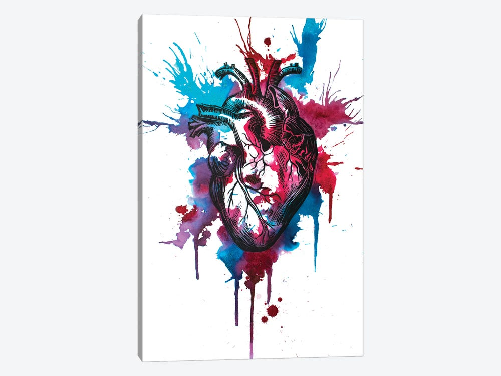 Tell Tale Heart XII by Victoria Olt 1-piece Art Print