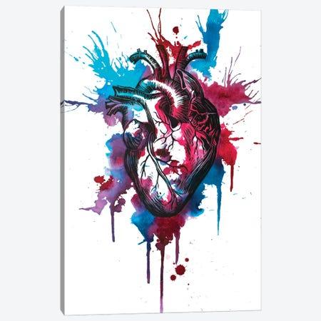 Tell Tale Heart XII Canvas Print #VIO27} by Victoria Olt Canvas Art Print