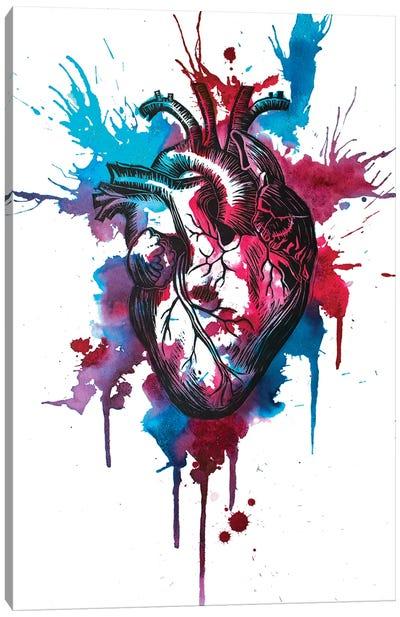 Tell Tale Heart XII Canvas Art Print