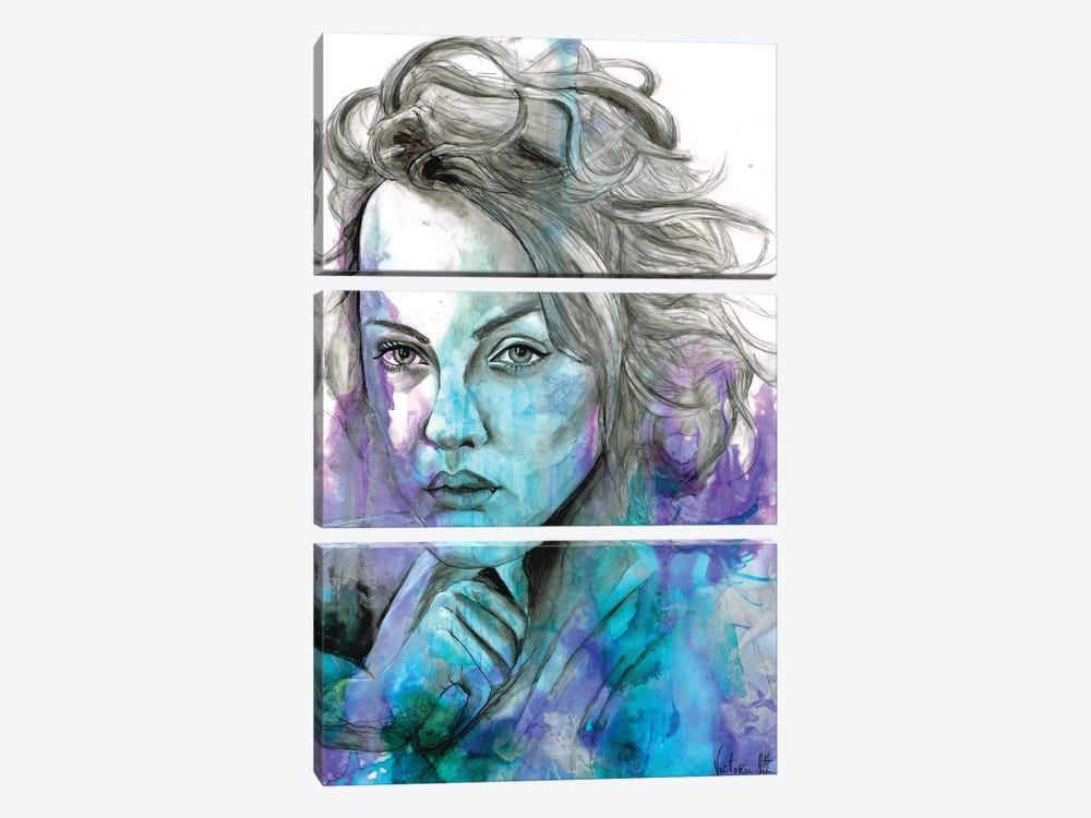 Untitled III by Victoria Olt 3-piece Art Print
