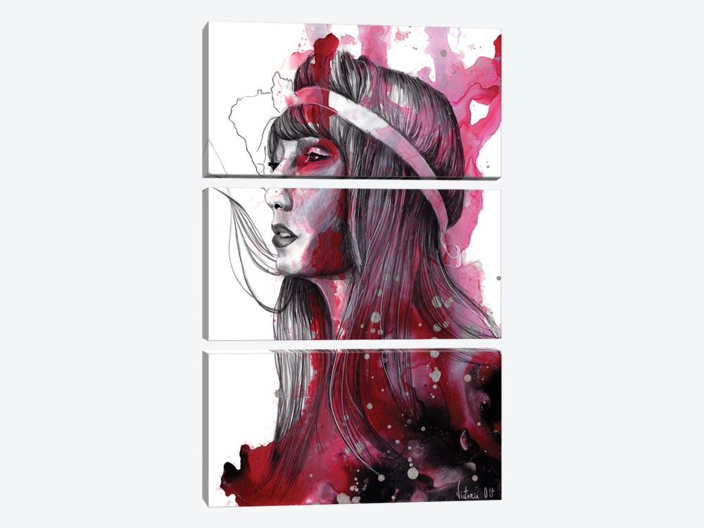 Untitled X by Victoria Olt 3-piece Canvas Art