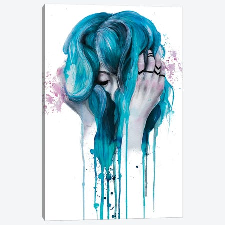 Who I Used To Be Canvas Print #VIO35} by Victoria Olt Canvas Wall Art