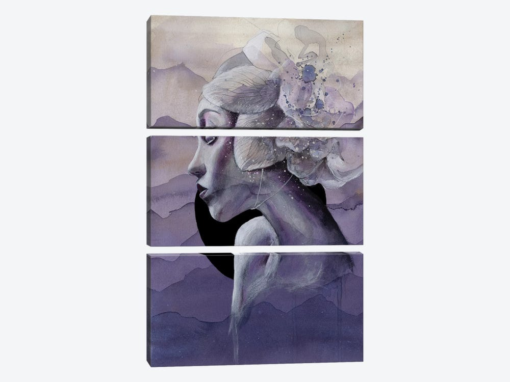 Alone by Victoria Olt 3-piece Canvas Art