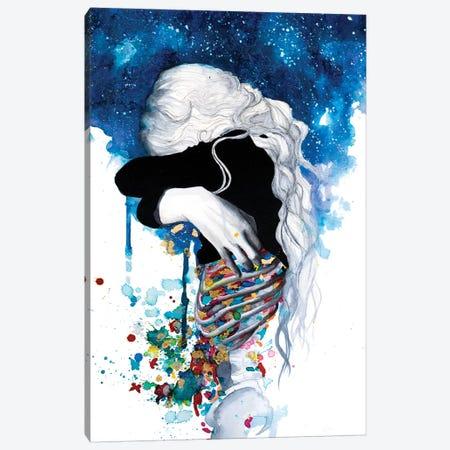 Anxiety 3-Piece Canvas #VIO3} by Victoria Olt Canvas Artwork