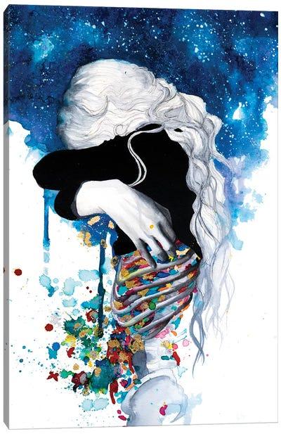 Anxiety Canvas Art Print