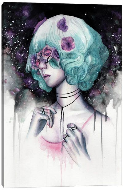 Blinded I Canvas Art Print
