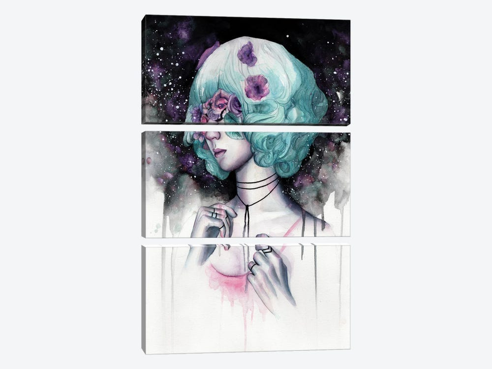 Blinded I by Victoria Olt 3-piece Canvas Artwork