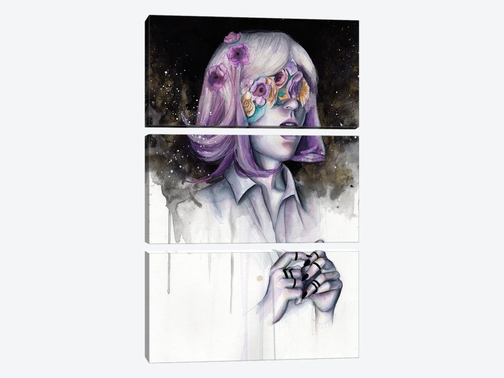 Blinded II by Victoria Olt 3-piece Art Print