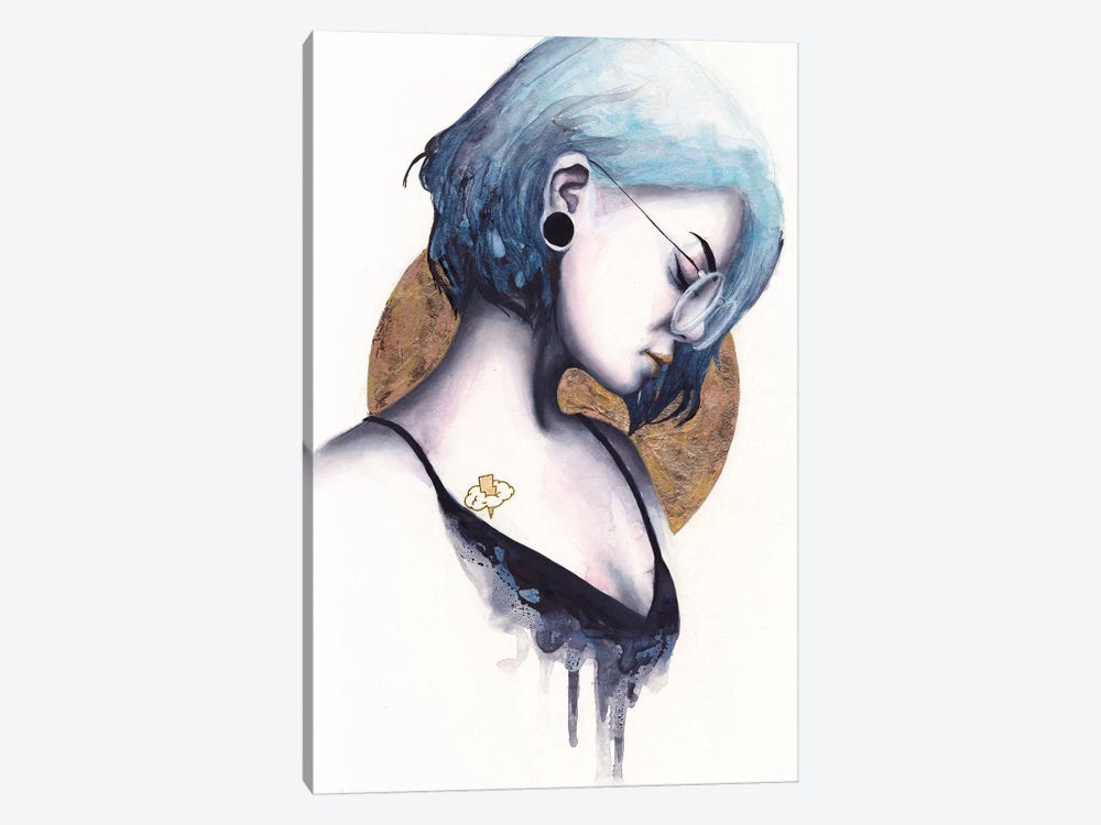 Static by Victoria Olt 1-piece Canvas Art Print
