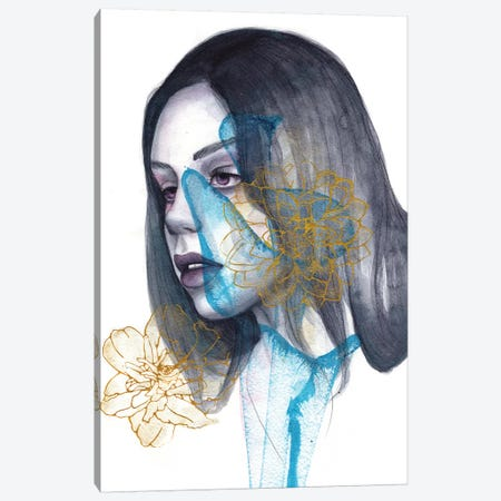 Sleepless Heart Canvas Print #VIO44} by Victoria Olt Canvas Art Print