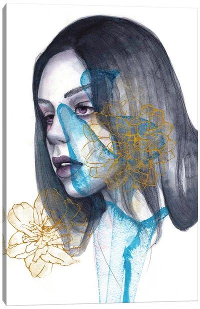 Sleepless Heart Canvas Art Print