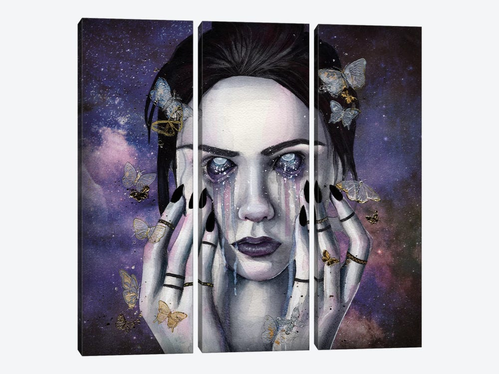 Searching For The Stars by Victoria Olt 3-piece Art Print