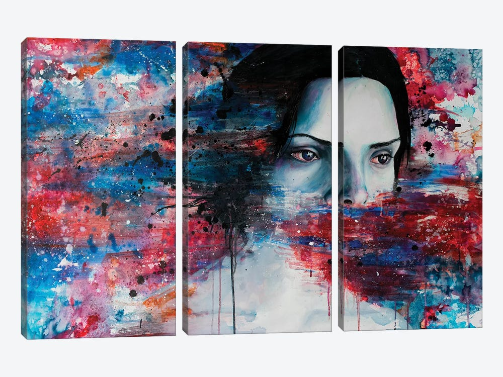 Aphasia by Victoria Olt 3-piece Canvas Artwork